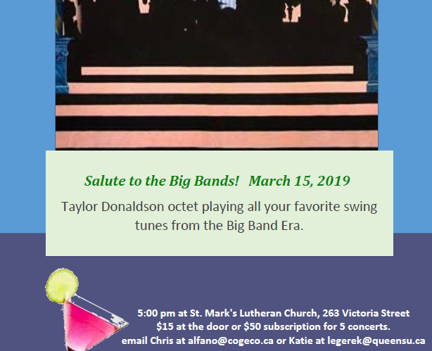 Salute to Big band - March 15